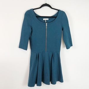 Amour Vert 3/4 Sleeve Skater Dress